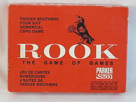 ROOK 1964 Red Box Card Game Parker Brothers 100% Complete Excellent Plus - $26.61