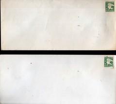 Stamps- U. S. - D Stamped Envelop (Set of 2) - $1.95