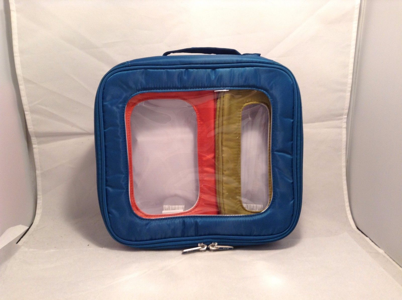 New With Tags NWT Lug Bento Box 3 Piece Storage Container Set Green Orange Blue