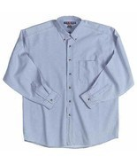 Jerzees XL Denim Shirts in Blue NEW  - £10.61 GBP