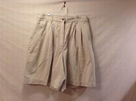 Great Condition Marsh Landing Essentials Light Khaki Size 14 Shorts 100% Cotton