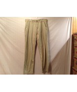 Good Condition Marks & Spencer Light Sand Khaki Pants Made in UK - $39.59