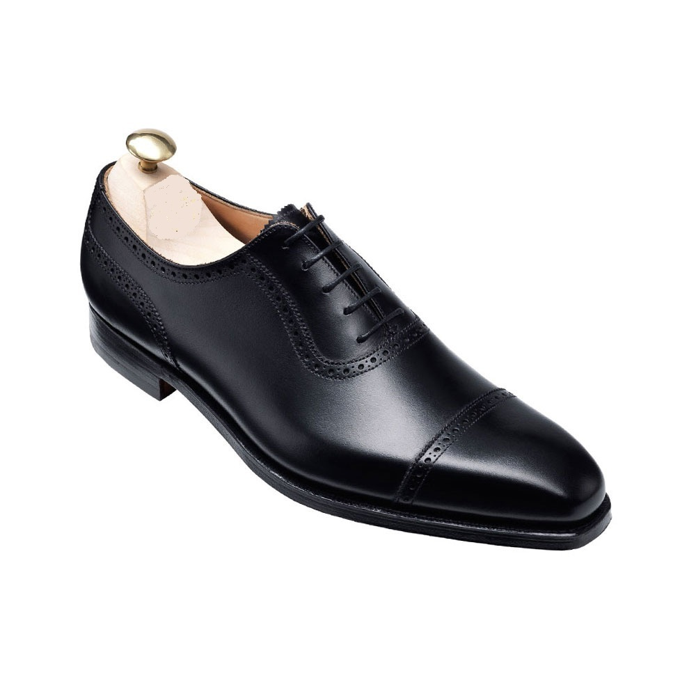 Handmade Mens Formal Shoes, Black Men's Leather Shoes