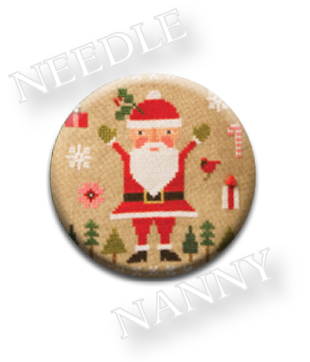 Primary image for Celebrate Needle Nanny needle minder cross stitch Lizzie Kate Quilt Dots