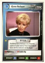 Star Trek CCG - Alynna Nechayev - $0.65