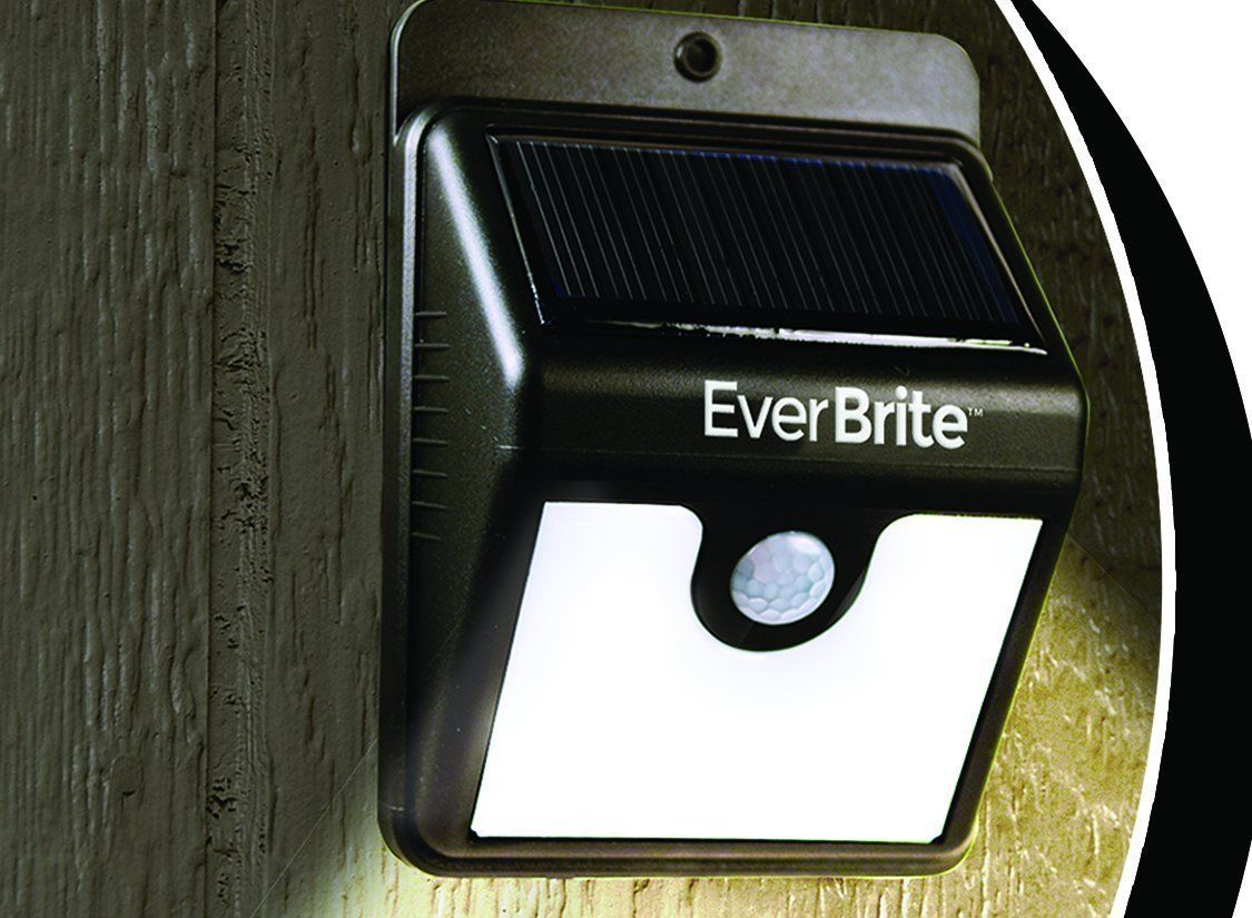 Ever Brite Outdoor Motion Activated Solar Power Led Light