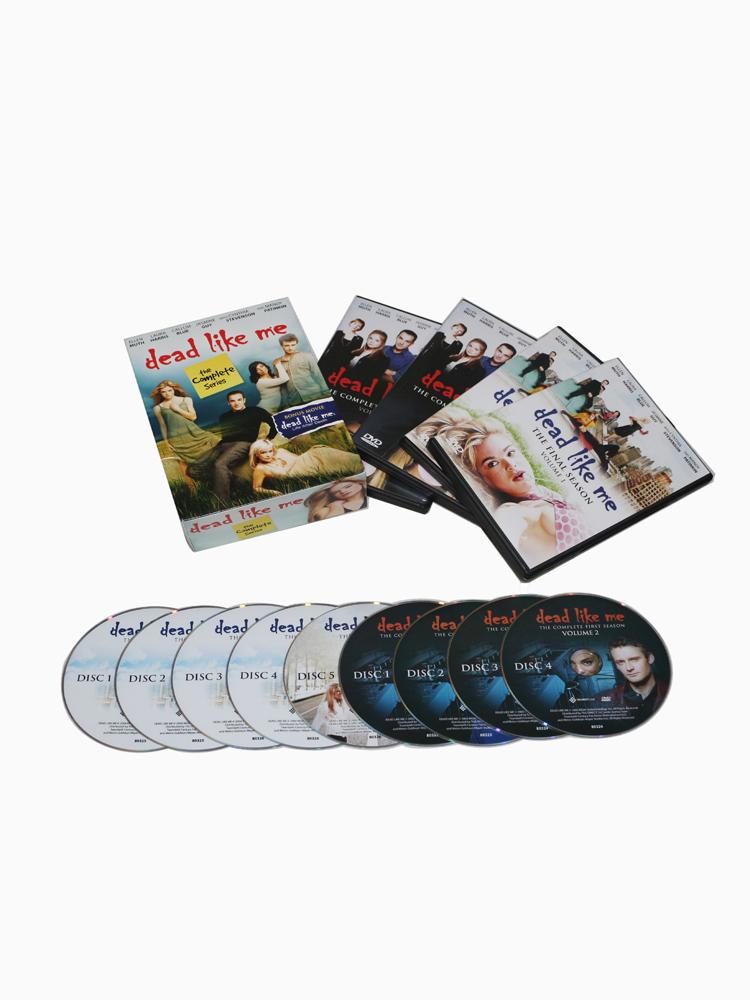 Dead Like Me The Complete Series Season 1-2 1,2 DVD Box Set 9 Disc Free Shipping