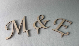 Wedding Cake Topper Initial Accessory Monogram Birthday Cake Decoration ... - $6.25 CAD