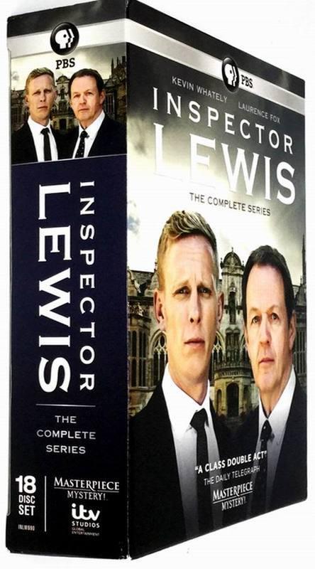 Masterpiece Mystery: Inspector Lewis Series Seasons 1-8 DVD 18 Disc Box Set