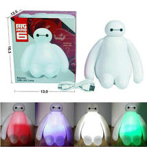 New Color Changing Big Hero 6 Baymax USB LED Table Desk Lamp Light For Gift - $180,25 MXN