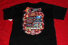 Universal Halloween Horror Nights 2015 25th Anniversary House-Maze Xl T-SHIRT - $24.95