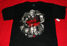 Universal Halloween Horror Nights 2015 25th Anniversary Alumni Xl T-SHIRT - $29.95