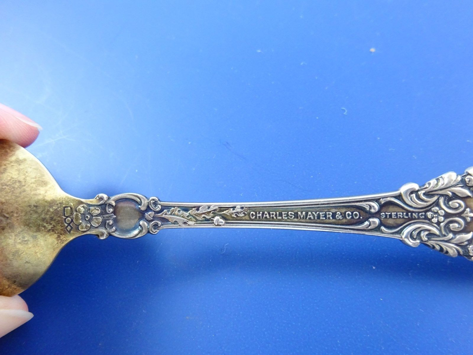 Indianapolis Sterling Silver  Souvenir Spoon INDIANA image 6