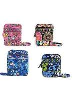 Vera Bradley Disney Mini Hipster Pink Blue Black Handbag Purse Mickey Mi... - $199.95