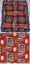 "Detroit Tigers Baby Blanket Fleece Pet Lap Navy Orange  30"" x  24"" MLB B... - $39.95"