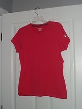 CHAMPION WORKOUT T- SHIRT SIZE M STRETCH PINK NWT - $14.75