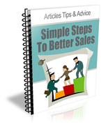 Simple Steps to Better Sales - ebook - $0.59