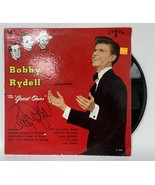 """Bobby Rydell Signed Autographed """"The Great Ones"""" Record Album - $39.99"""