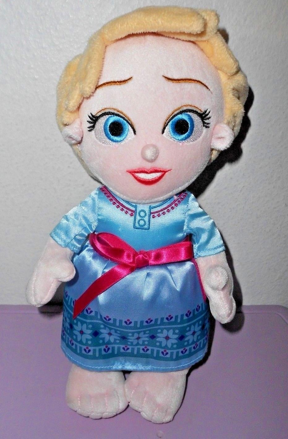 Disney Babies Frozen Elsa Plush Doll Soft Toy No Blanket Disney Parks