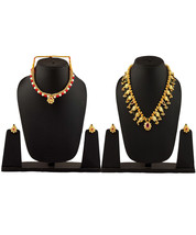 Womens Trendz Combo Pack of Two Traditional, Ethnic and Antique 24K Gold Plated  - $70.00