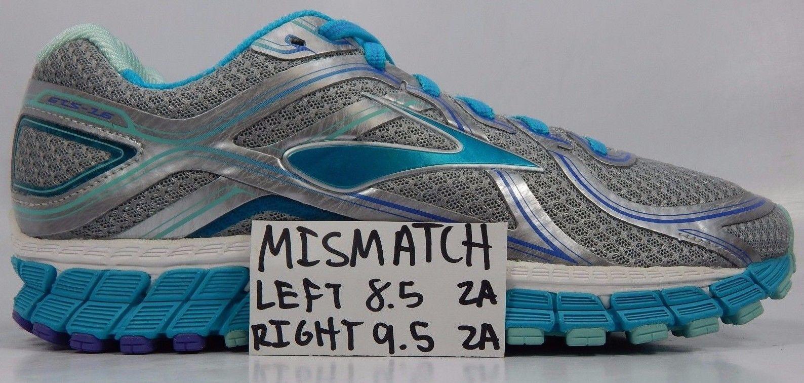 MISMATCH Brooks GTS 16 Women's Shoes Size 8.5 2A Left & Size 9.5 2A Right NARROW