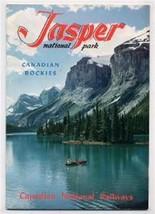 Canadian National Railways JASPER National Park 1955 Booklet Rockies - $34.65