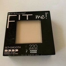 Maybelline Fit Me Set Smooth Normal to Dry 220 Natural Beige Pressed Powder  - $5.89