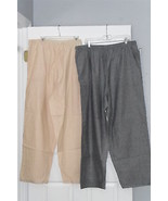 WOMANS ANTHONY RICHARDS PANTS SIZE 24W TWO PAIRS - $26.98