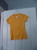 CHAMPION WOMANS ATHLETIC WORKOUT SHIRT SIZE XS DOUBLE DRY BRIGHT YELLOW NWT - $14.99