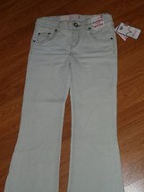 Girls Levi's J EAN S Size 10 1/2 Plus Stretch Glitter Msrp: $30.00 Nwt - $16.99