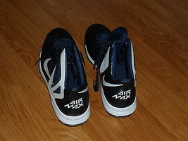 Men's Nike Air Max Basketball Sneakers Size 18 Blue Hyper Aggressor Nwt - $74.98