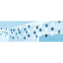 Let It Snow Plastic & Foil Hanging Ceiling Decoration Snowflakes - $14.53
