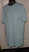 BILLABONG MENS T-SHIRT SIZE S/M LIGHT BLUE NWT - $15.99