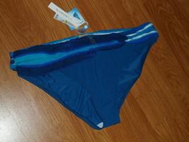 BLEU ROD BEATTIE BIKINI BOTTOM SIZE 14 LYCRA XTRALIFE BLUE MSRP:$57.00 WT - $19.99