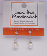 Multiple Sclerosis MS Awareness Sterling Sliver... - $7.99