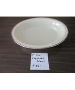 "Lenox Montclair Presidential Eggshell Platinum Rimmd 9"" Oval Veg.Bowl B5... - $85.00"