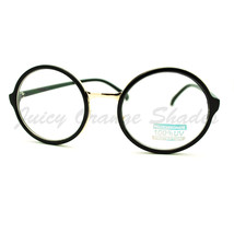 Round Clear Lens Glasses Classic Circle Frame Eyeglasses Unisex - $7.95+