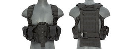 Lancer Tactical Adjustable M4 Chest Rig Harness... - $49.99
