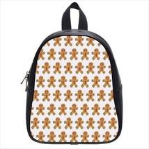Cute Gingerbread Man Leather Kid's School Bag / Children's Backpack - $33.94+