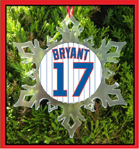 Bryant Jersey Christmas Ornament - $12.95