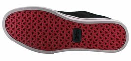 Etnies Mens Black/Tan/Red Suede Leather Jameson 2 Low Top Skateboarding Shoes NW image 8