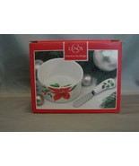 Lenox Winter Meadow Dip Bowl and Spreader Set NIB - $14.99