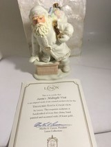 Lenox Santa Figurine Santa's Midnight Visit  Hand Painted $76 NEW Christmas - $47.40