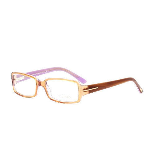 BRAND NEW TOM FORD TF 5185 050 BROWN EYEGLASSES AUTHENTIC RX TF5185 W/ CASE !