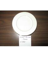 """Lenox Montclair Presidential Eggshell Platinum Rimmed 6"""" Bread&Butter Pl... - $15.99"""