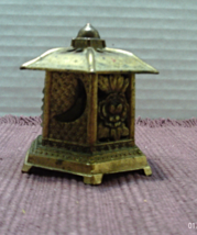 Vintage Brass Incense Burner Pagoda Asian Hippi... - $10.02