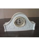 "Lenox The Fruits of Life Clock, Ivory w/24K Gold Rim 9""x5"" 1994 - $34.50"