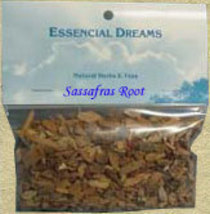 Sassafras Root Loose 1/2 oz Organic Herbs-out of stock - $5.00