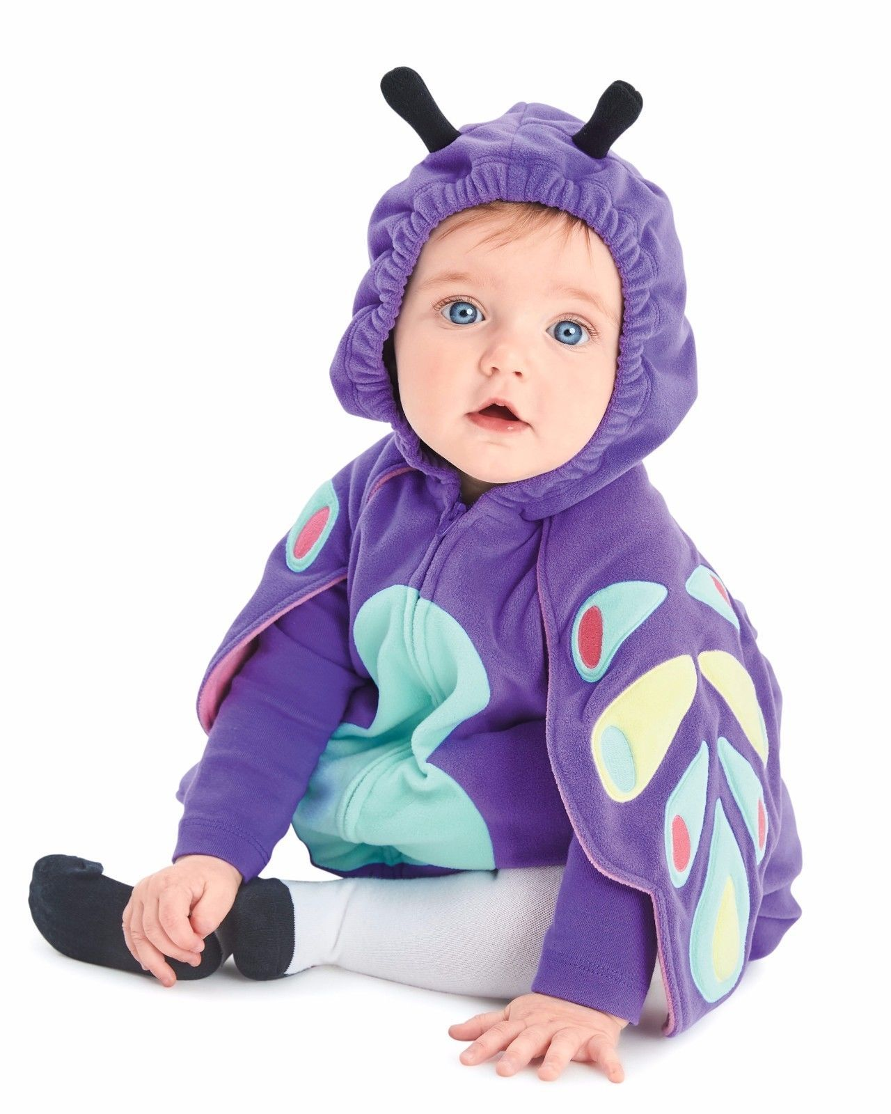 NEW NWT Girls Carter's Halloween 3 Piece Butterfly Costume 6/9 Months