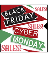 Black Friday Cyber Monday BANNERS, Avatars, Gra... - $0.00